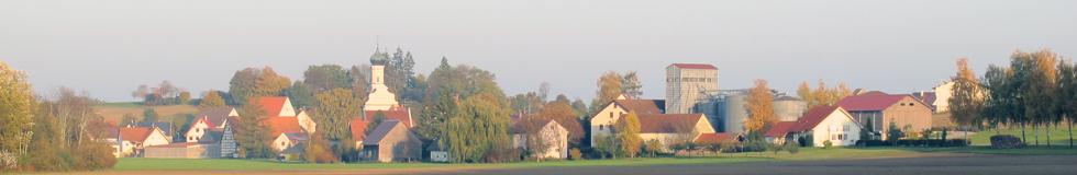 Blick auf Grundsheim